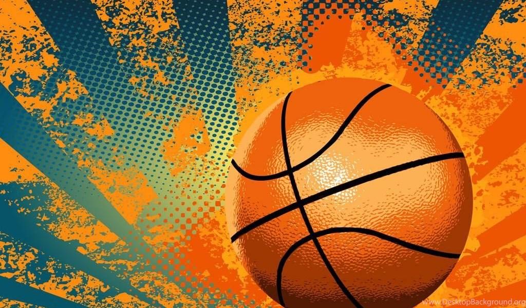 free basketball vectors desktop background