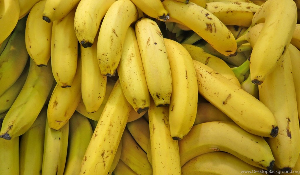 Download Wallpapers 2048x1152 Background, Texture, Banana ...
