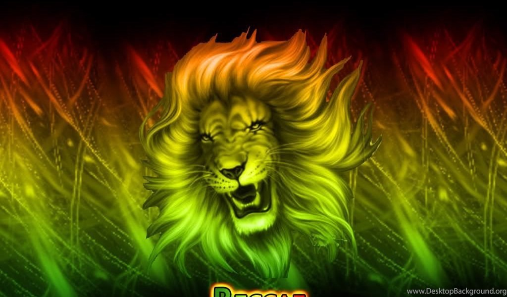 Rasta Lion Wallpapers Desktop Background