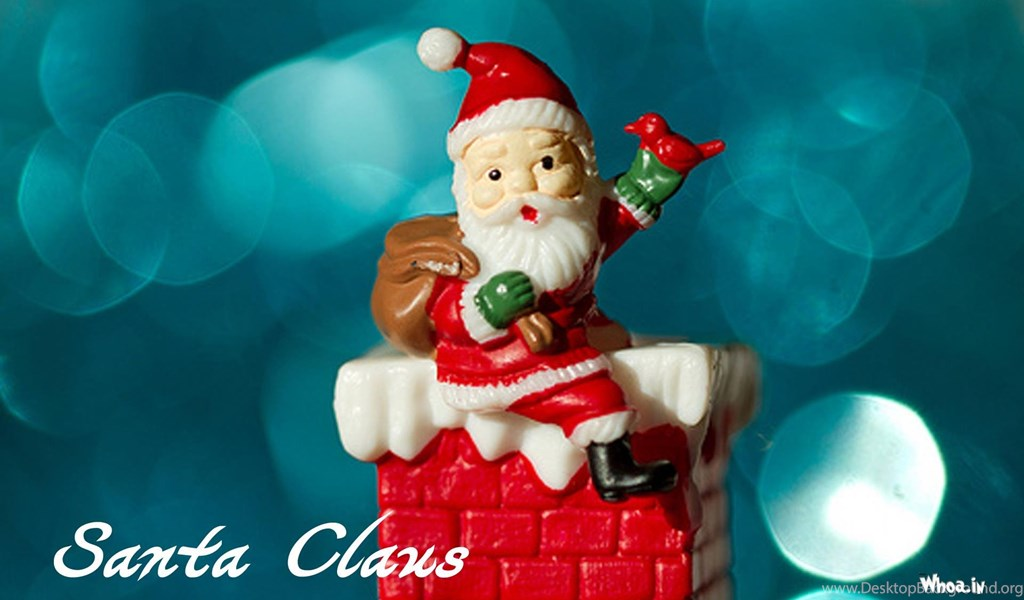 Santa Claus Hd Wallpaper Greeting Cards Desktop Background