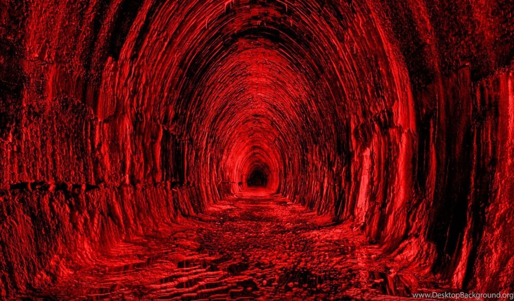 Full Hd Wallpapers Tunnel Infinity Dark Red Desktop Backgrounds Hd