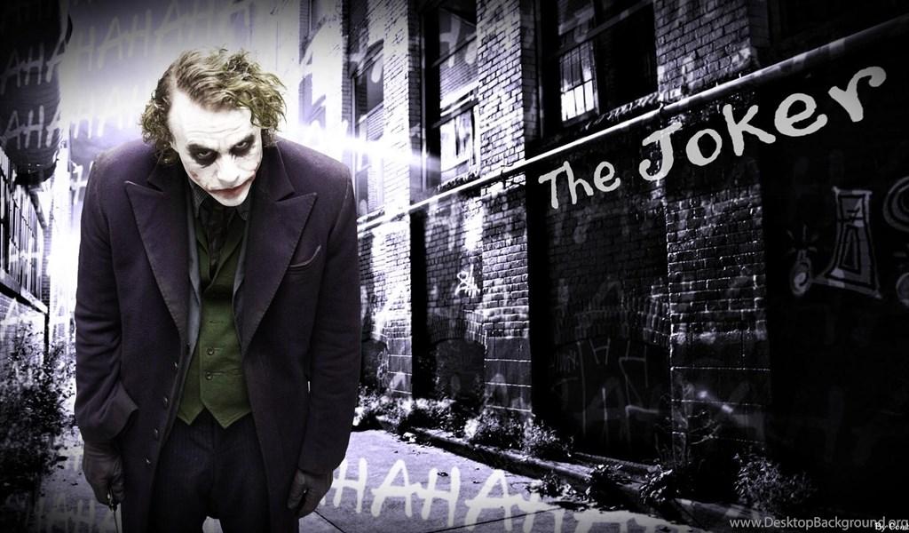 The Dark Knight Joker Why So Serious Wallpapers Desktop Background