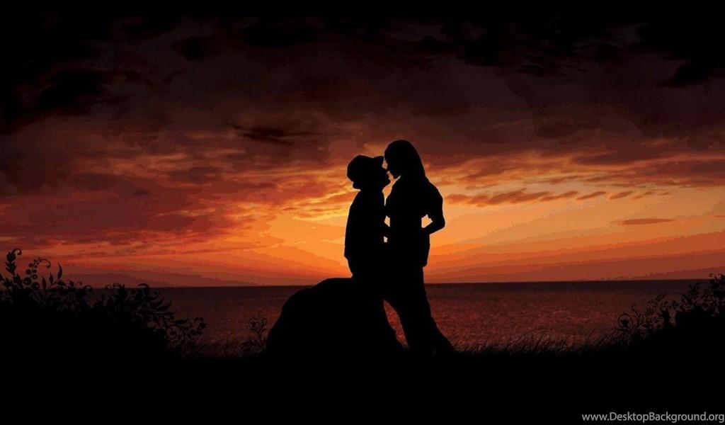 Love Romantic Kiss Wallpapers Hd Desktop Background