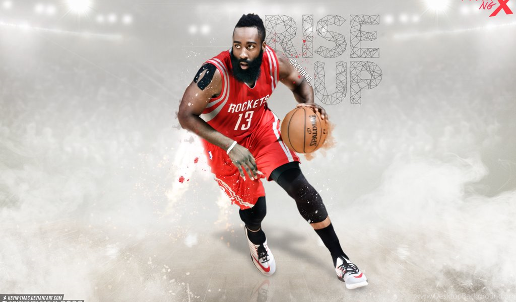 James Harden Rise Up Wallpapers By Kevin Tmac On DeviantArt Desktop