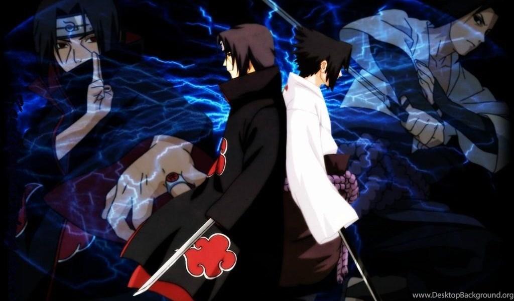Sasuke Itachi Wallpapers Desktop Background