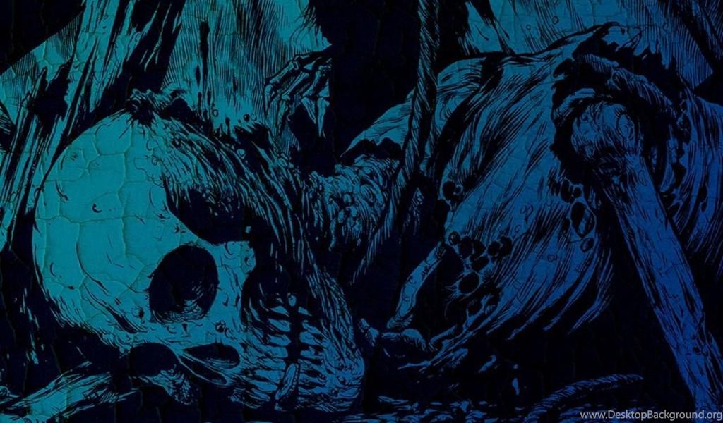 Skulls Wallpapers 15 Dark Skull Desktop Background