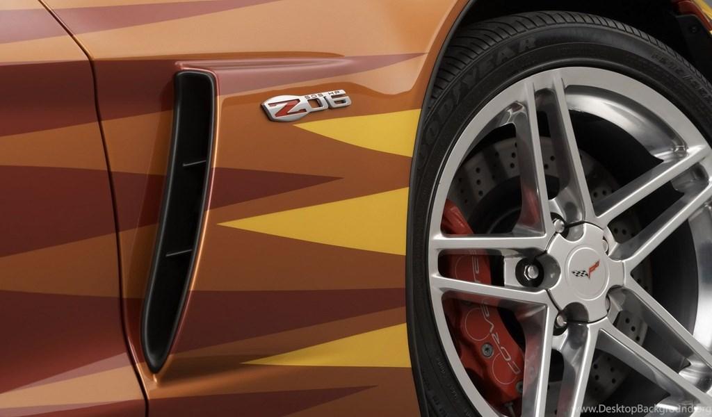 2006 Chevrolet Corvette Z06 Daytona 500 Pace Car Logo Desktop