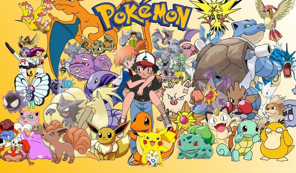Pokémon For Android APK Download (Full Game) Desktop Background