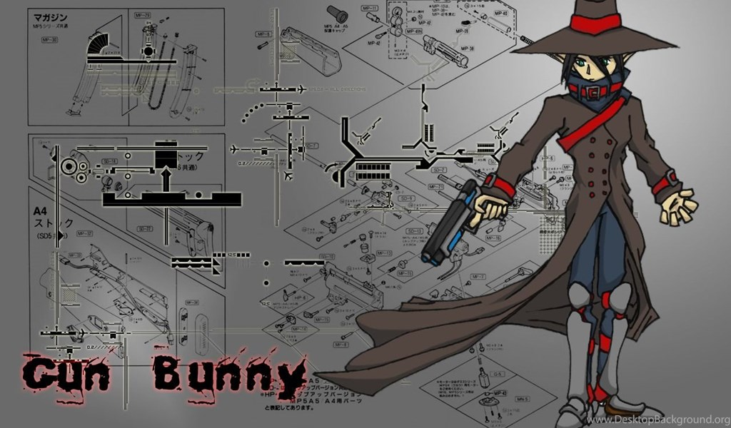 Anime D20 Gun Bunny Wallpapers By Noodle Ninja On Deviantart
