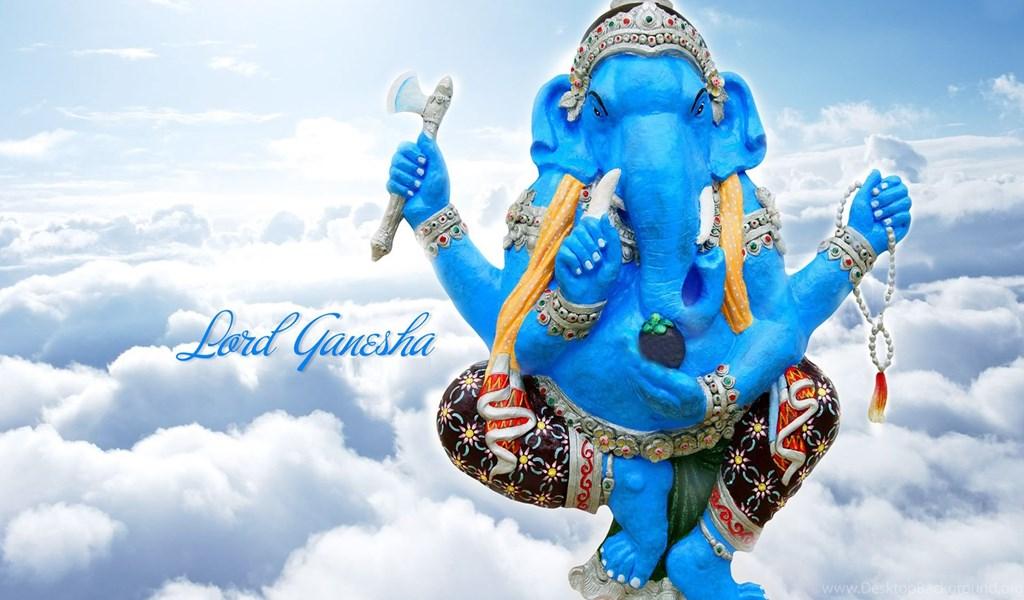 Nice Lord Ganesha Hd Wallpapers Desktop Background