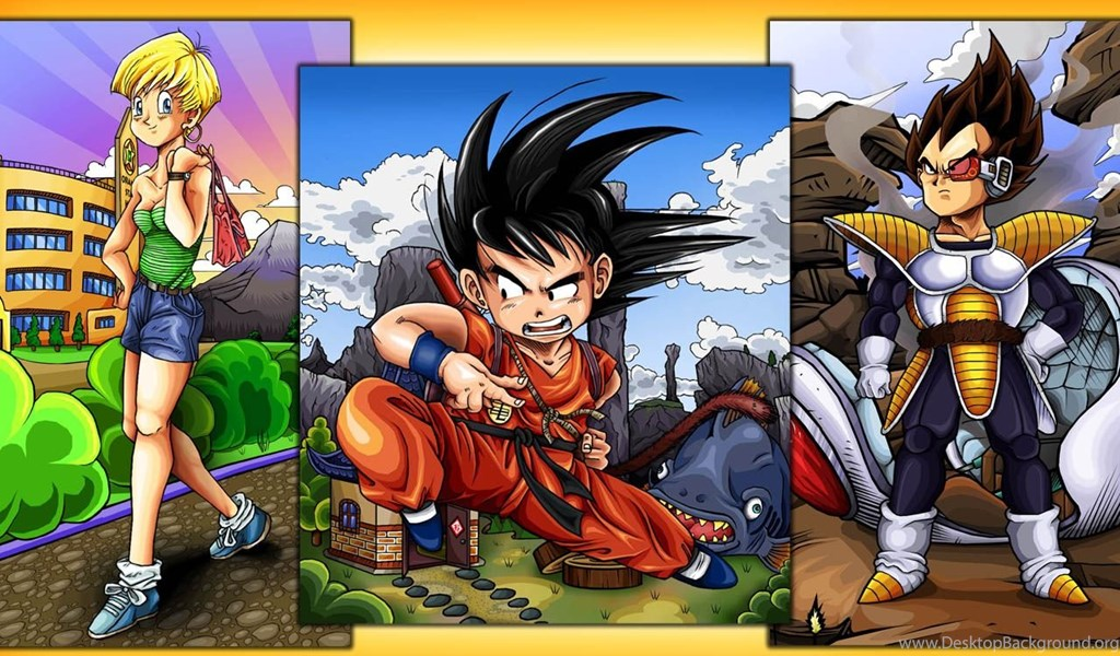 Dragon Ball Z Hd Wallpapers And Backgrounds Desktop Background