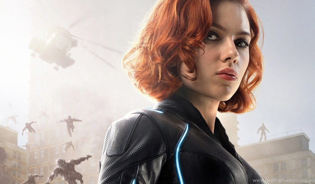 Black Widow Avengers 2 Wallpaper Desktop Background