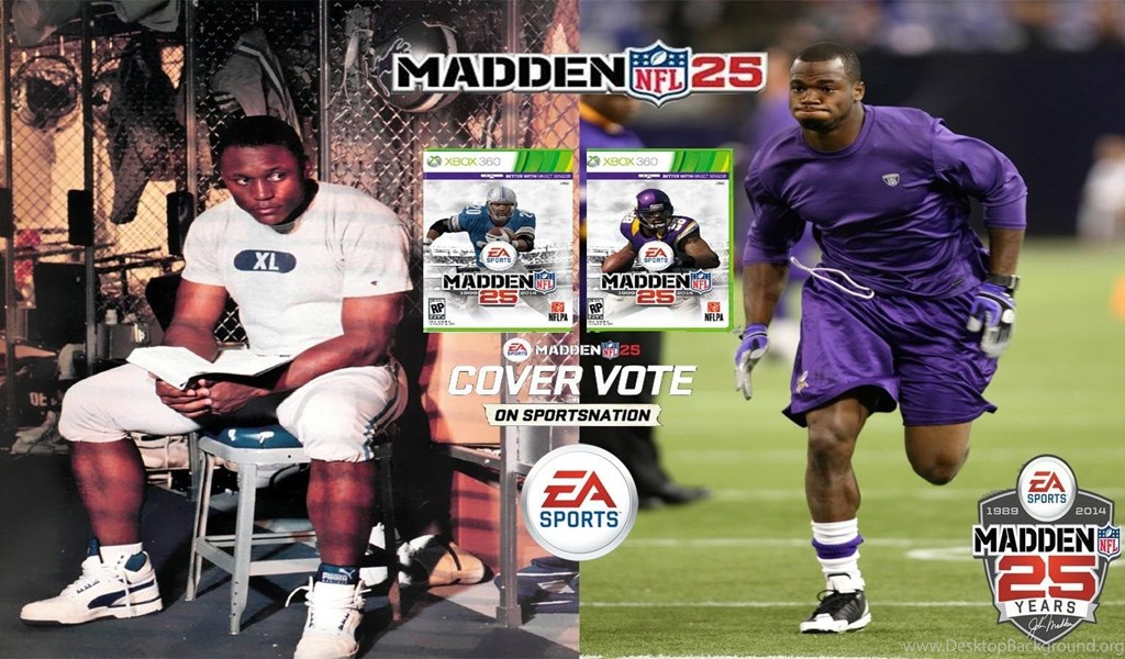 Madden NFL 13 Madden 25 Cover Vote Finals Montage:Barry
