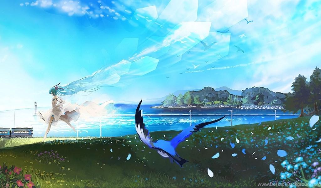 Anime Landscape Hd Wallpapers Part 2 Design Hey Desktop Background