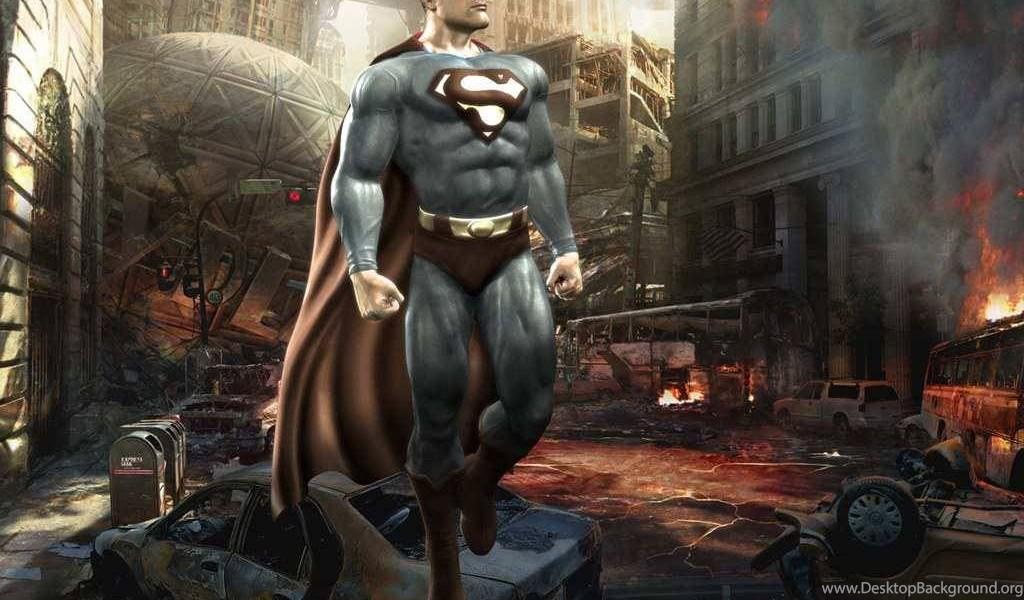 Superman In Mortal Kombat VS  DC Universe Game Wallpapers