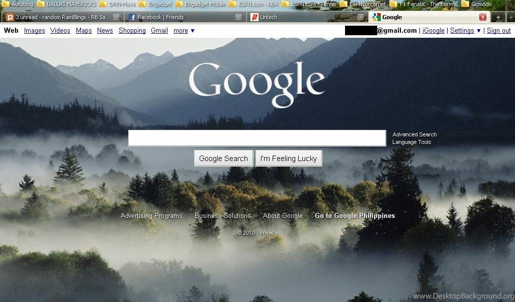 Custom Backgrounds Now Available On Google Homepage Desktop