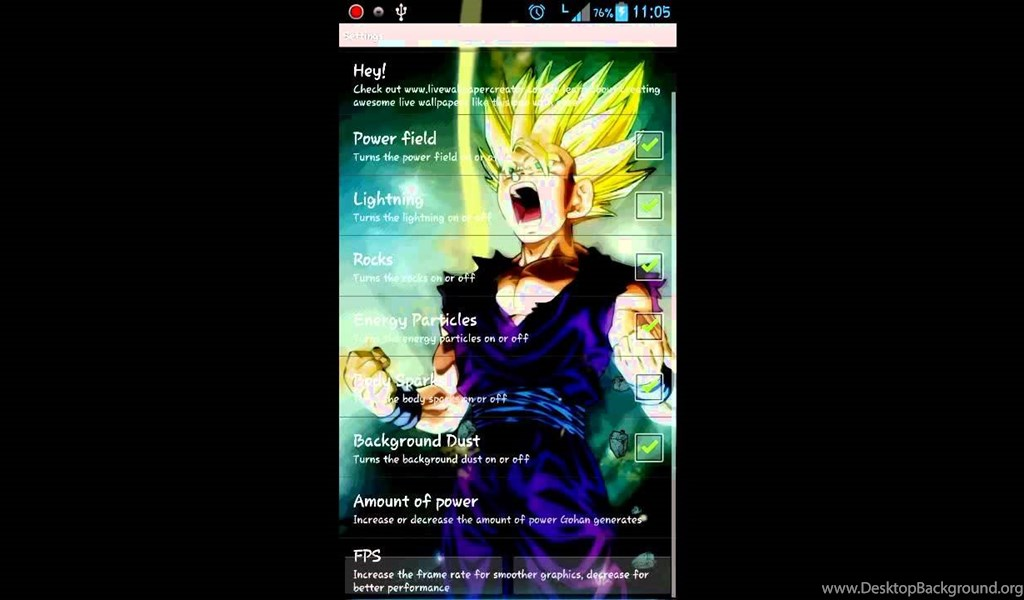 Super Saiyan 2 Android Live Wallpapers YouTube Desktop