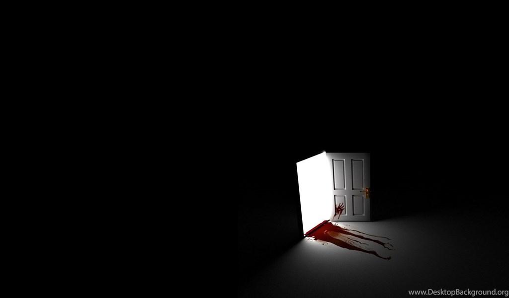 Black blood creepy doorg desktop background playstation 960x544 voltagebd Choice Image