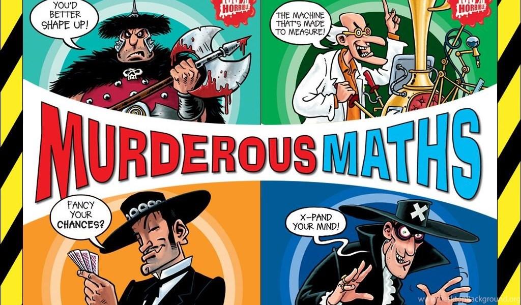 Murderous Maths Wallpapers Scholastic Kids Club Desktop Background