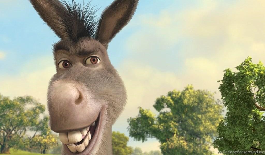 Donkey Shrek The Final Chapter HD Desktop Wallpapers Widescreen