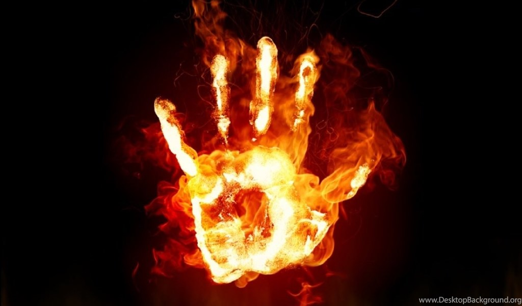 Download Free Fire Hands Screensaver, Fire Hands Screensaver