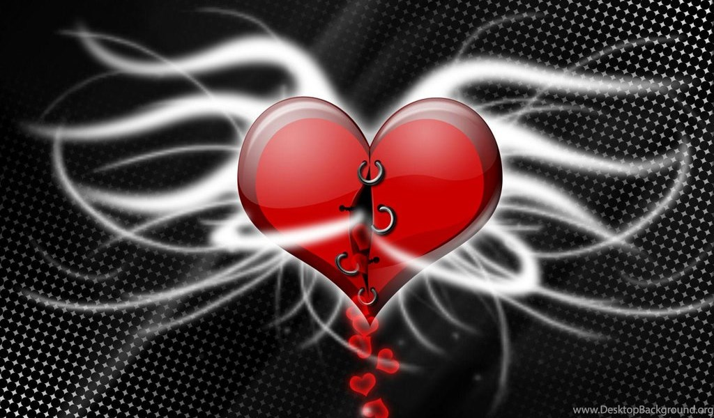 Animated Heart Wallpapers Desktop Background