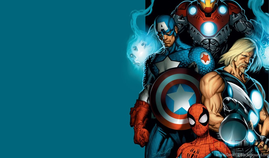 Marvel Heroes Wallpapers Hd Desktop Background