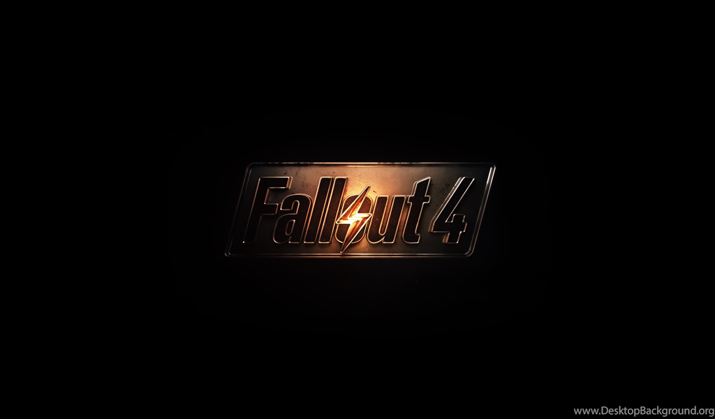 Fallout 4 Logo Hd Wallpapers Game Desktop Background