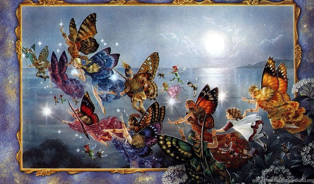 Wallpapers Fairies With Butterflies Please Enable Javascript To