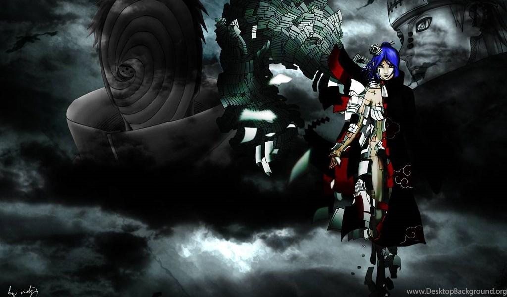Wallpapers Yahiko Naruto Shippuden Akatsuki Pein Konan Hd Anime Desktop Background