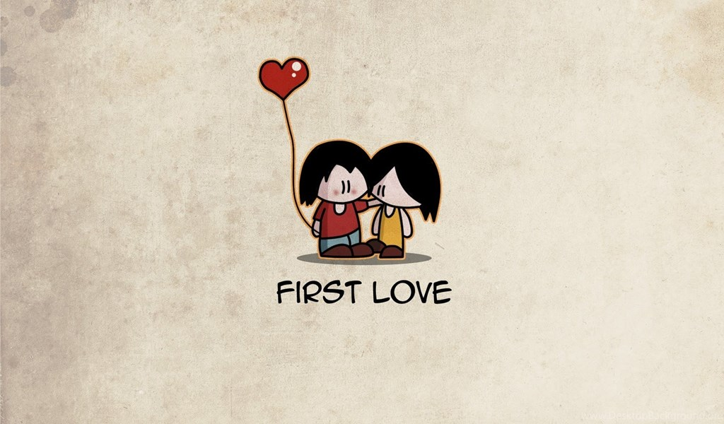 First Love Cartoon HD Wallpapers Desktop Background Beauteous Love Cartoon Picture Hd