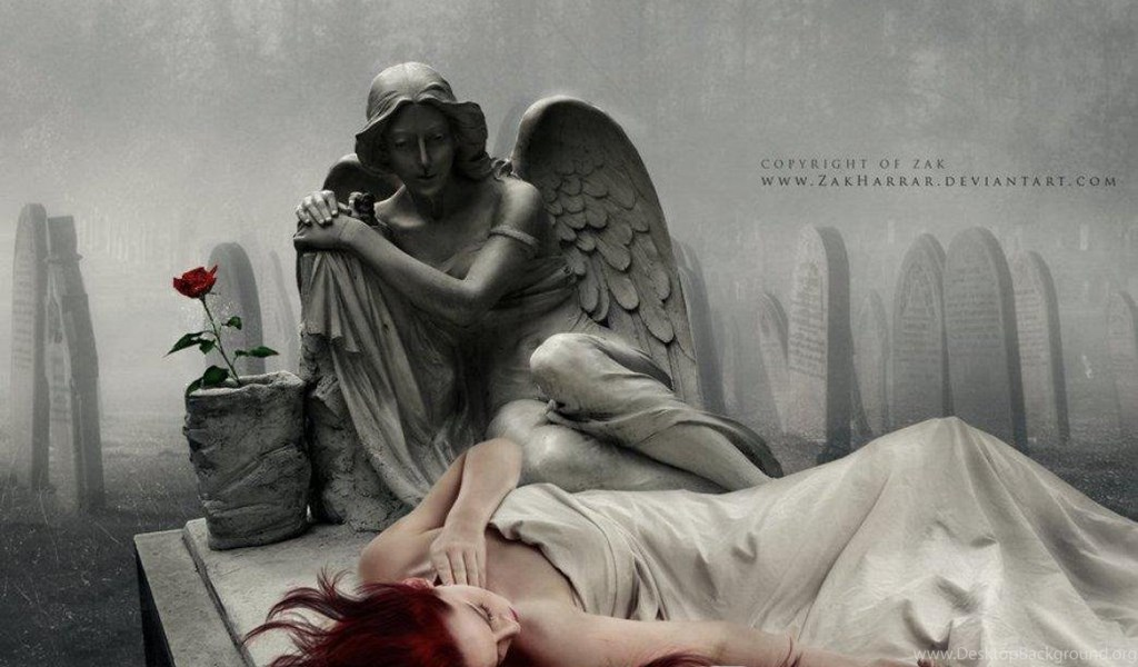 Город падших ангелов картинки