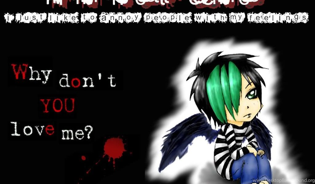 Emo Boy Wallpapers For Desktop Cave Background