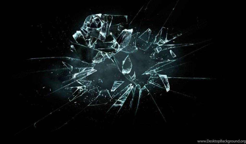 Broken screen wallpaper for mobile