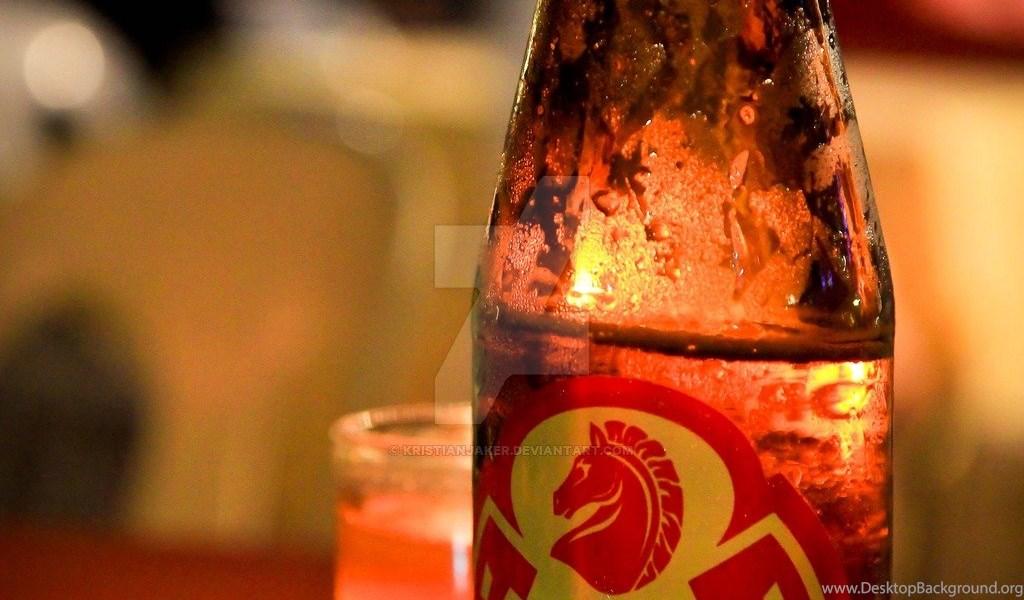 Red Horse Beer By Kristianjaker On Deviantart Desktop Background