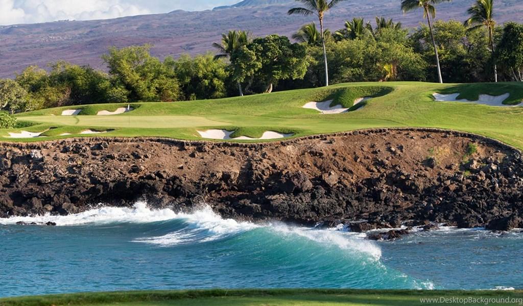 Hawaii Beach Golf Course Wallpaper Island Hd Wallpaper View Hd Desktop Background