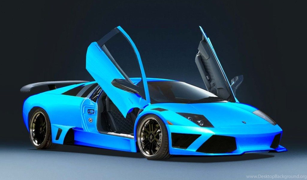 Blue Lamborghini Iphone Wallpapers Image Desktop Background