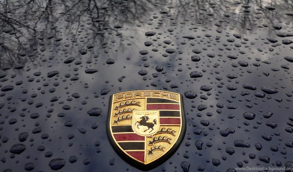 Porsche Logo Desktop Background