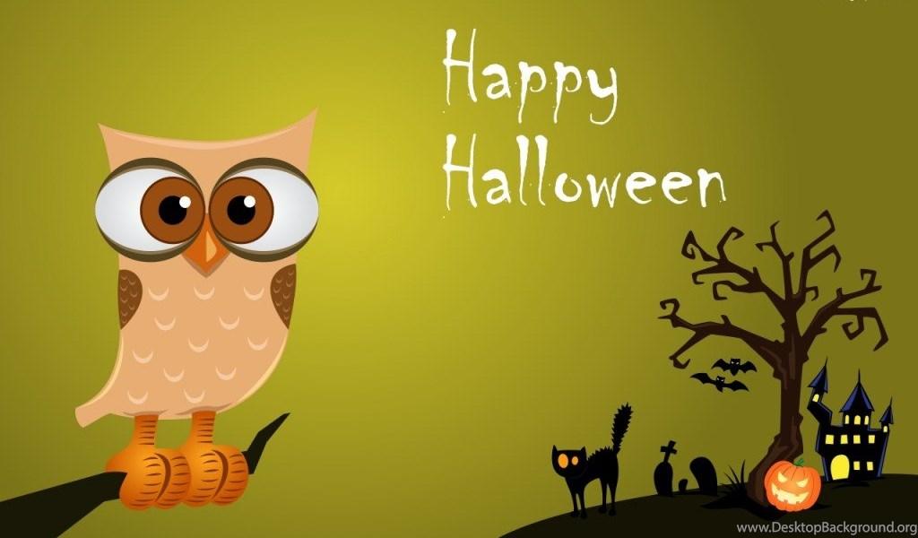 Top 10 cute halloween wallpapers and windows 10 theme desktop background - Funny happy halloween wallpaper ...