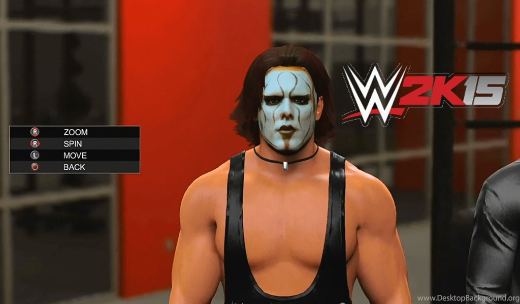 WWE 2K15 Sting PS4 PSN Download Custom WCW Classic Attire
