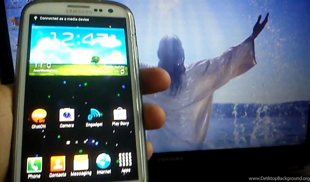 Samsung Galaxy S3 HOW TO INSTALL MICROBES LIVEWALLPAPER YouTube