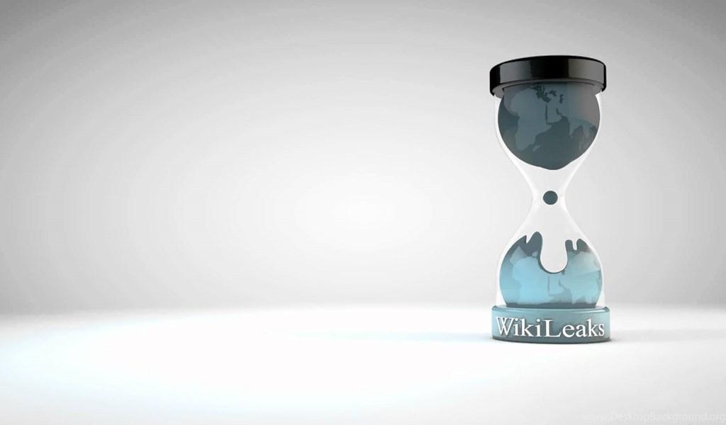WikiLeaks Logo Animation YouTube Desktop Background