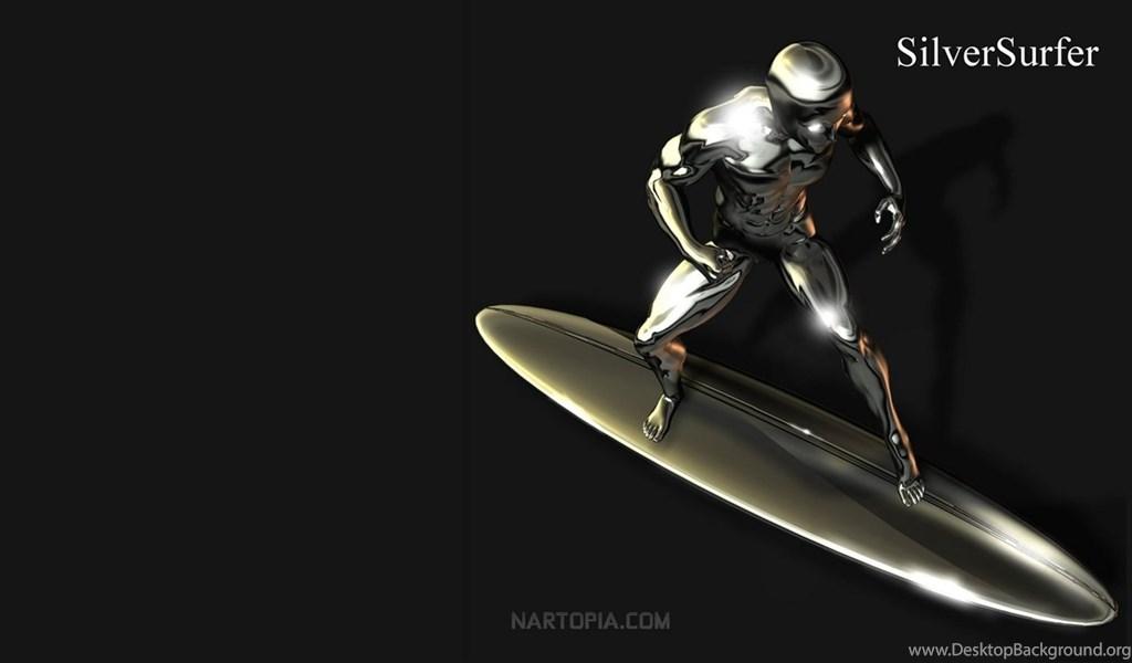 Silver Surfer Wallpaper High Resolution: Top Marvel Comics Silver Surfer Wallpapers Desktop Background