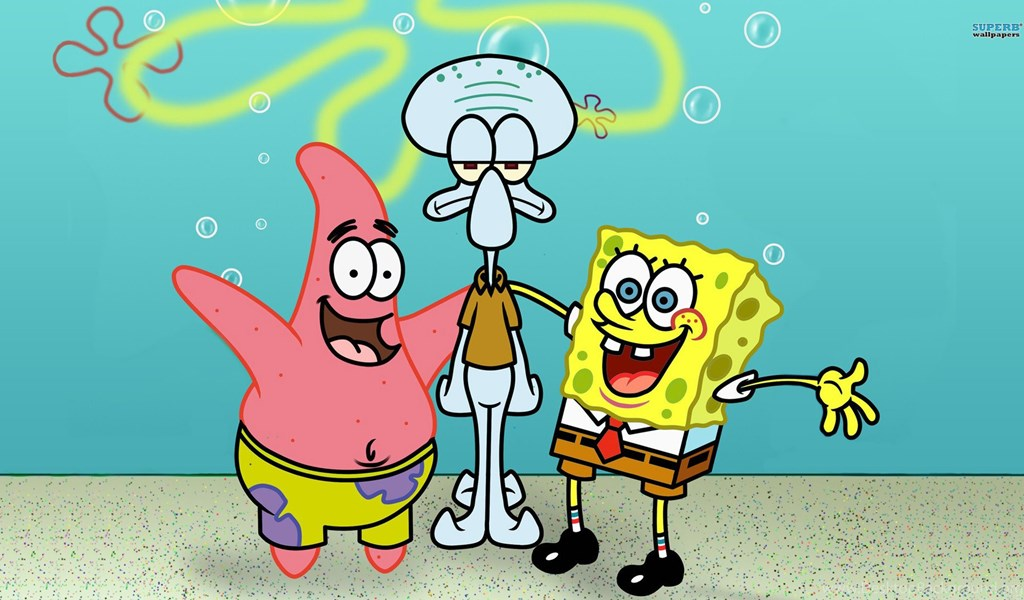 Spongebob squarepants and patrick star wallpapers for android for playstation 960x544 voltagebd Image collections