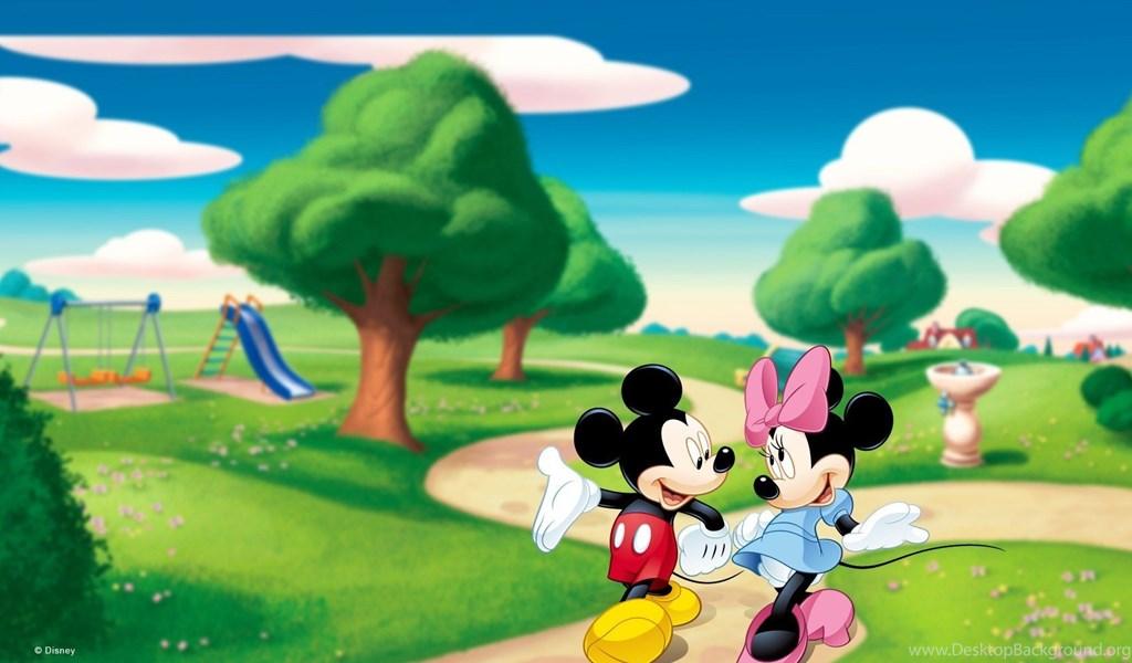 Mickey Mouse Minnie Mouse Disney Hd Wallpapers Freewallsup Desktop