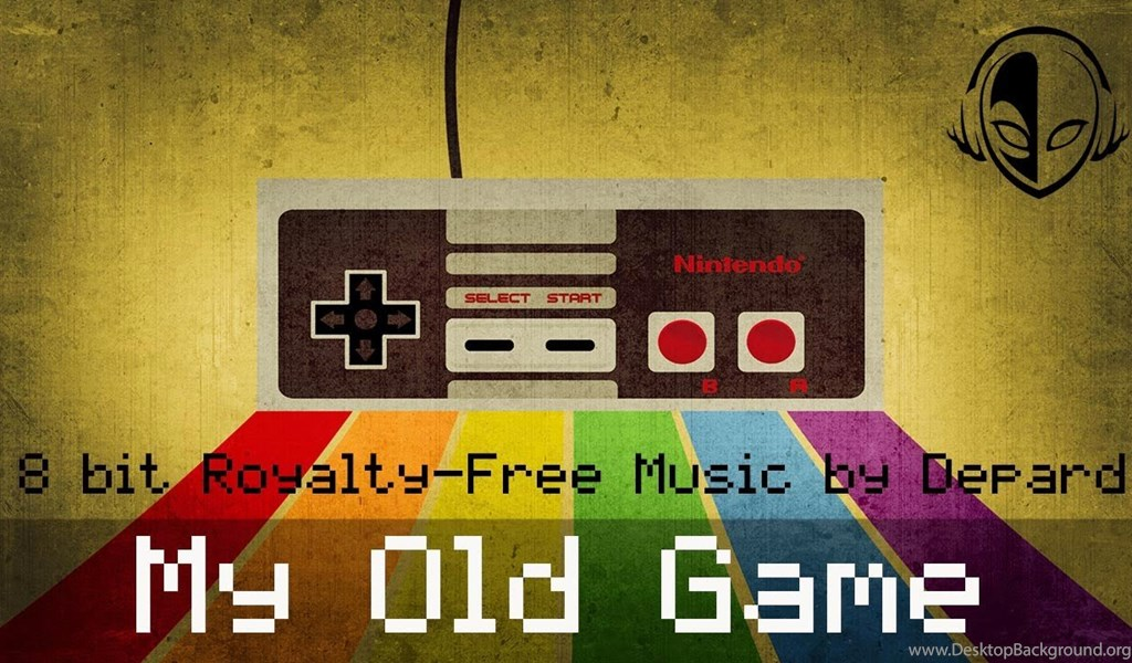 Depard My Old Game Retro 8bit Video Games Backgrounds Music