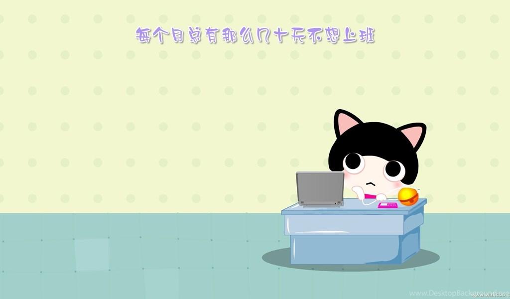 Cute Cartoon Cat Wallpapers Cool Backgrounds Hd Desktop Background