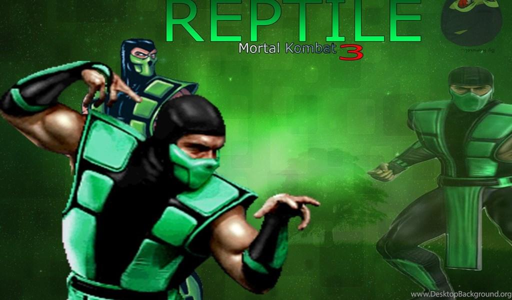 Reptile: Mortal Kombat 3 (Wallpaper) By Repwiel On