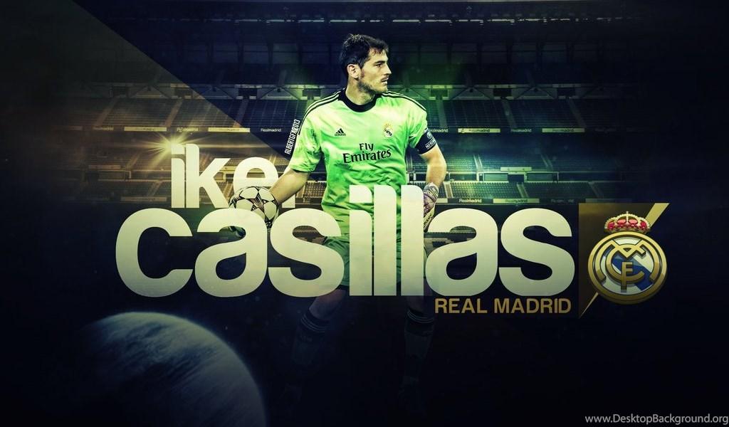 Iker Casillas (Real Madrid C.F.) By AlbertGFX On DeviantArt Desktop  Background