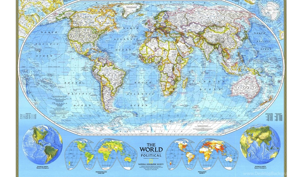 National geographic world map 1920x1200 hd wallpapers and free playstation 960x544 gumiabroncs Gallery